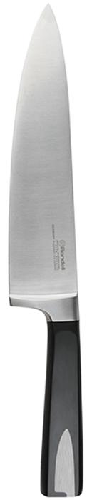 Нож для овощей Gladius Rondell изготовлен из высококачественной немецкой  нержавеющей стали X30Cr13. Характеристики: Особенности клинка: двусторонняя заточка лезвий, идеальная балансировка,  твердость по шкале Роквелла 52-55 HRC. Материал рукоятки: прорезиненные ручки с удобным хватом, не позволяющим руке  скользить. Использование: не рекомендуется мыть в посудомоечной машине.