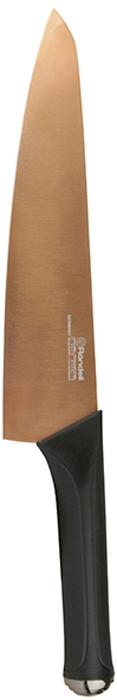 Нож поварской Rondell Gladius, длина лезвия 20 смRD-690Ножи коллекции Gladius - это не только предмет эстетического наслаждения, нои полностью функциональный предмет домашнего обихода.Нож поварской Rondell Gladius имеет клинок, изготовленный из высококачественной немецкой нержавеющей стали X30Cr13.Особенности клинка: двусторонняя заточка лезвий, идеальная балансировка, твердость по шкале Роквелла 52-55 HRC.Материал рукоятки: прорезиненные ручки с удобным хватом, не позволяющим руке скользить.Не рекомендуется мыть в посудомоечной машине.