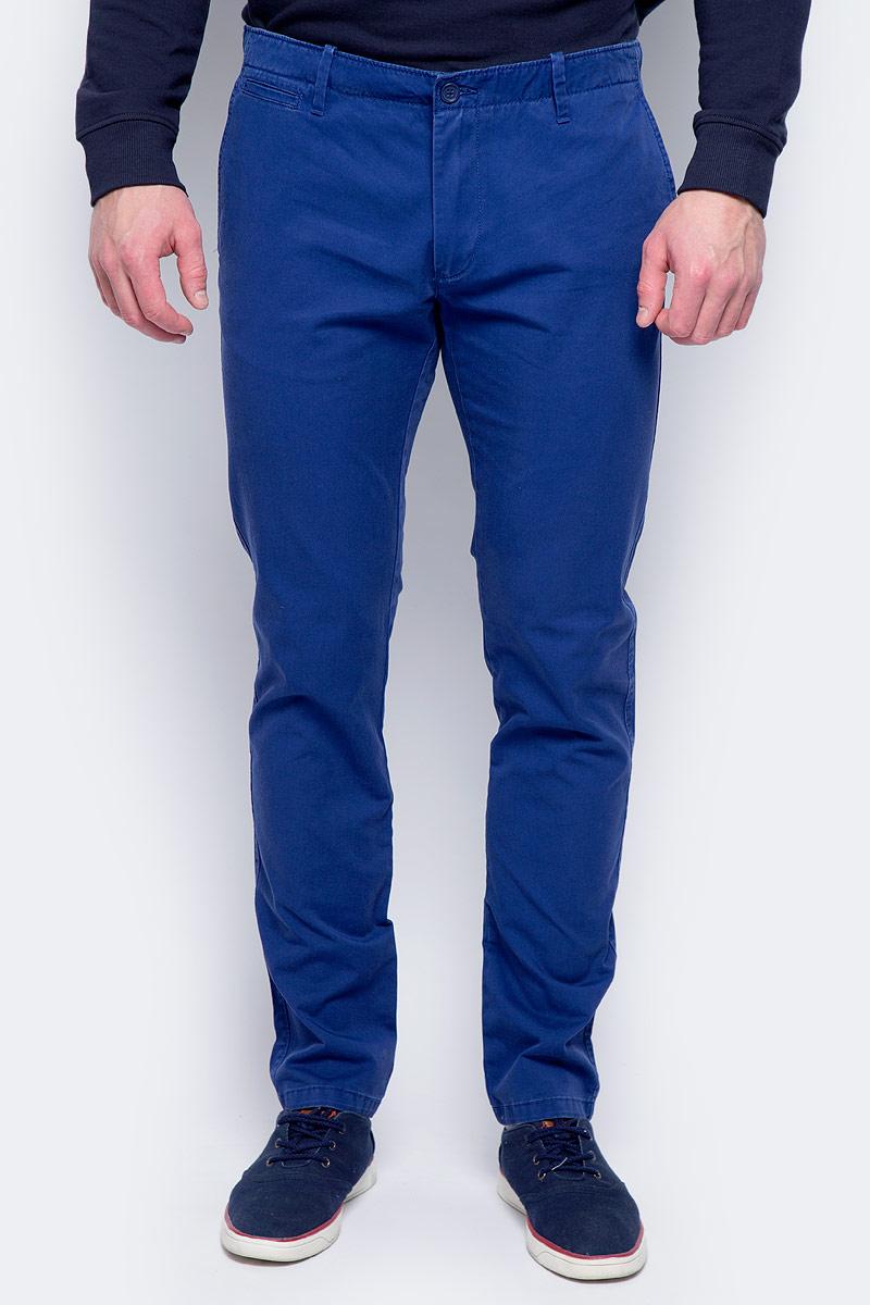 Брюки мужские United Colors of Benetton, цвет: синий. 4APN55AW8_0D2. Размер 50 брюки united colors of benetton брюки