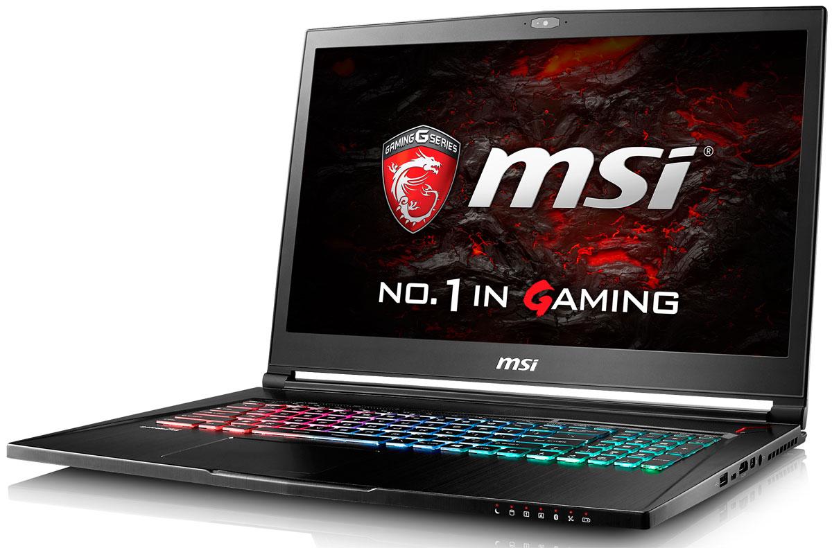 MSI GS73VR 7RG-083RU Stealth Pro 4K, BlackGS73VR 7RG-083RUИнженеры MSI оптимизировали каждую деталь архитектуры ноутбука GS73VR 7RG, чтобы сохранить баланс между портативностью и вычислительной мощью. Ни один другой игровой ноутбук в мире не способен продемонстрировать столь внушительную производительность при толщине корпуса всего 19,6 мм. В конструкции игрового ноутбука GS73 используется магний-литиевый сплав, который делает его на 44% жёстче алюминиевых корпусов. Вес всего 2,43 кг делает эту модель самым лёгким игровым ноутбуком в классе.Компания MSI создала игровой ноутбук с новейшим поколением графических карт NVIDIA GeForce GTX 10 Series. По ожиданиям экспертов производительность новой GeForce GTX 1070 должна более чем на 40% превысить показатели графических карт GeForce GTX 900M Series. Благодаря инновационной системе охлаждения Cooler Boost и специальным геймерским технологиям, применённым в игровом ноутбуке MSI GS73VR 7RG, графическая карта новейшего поколения NVIDIA GeForce GTX 1060 сможет продемонстрировать всю свою мощь без остатка. Олицетворяя концепцию Один клик до VR и предлагая полное погружение в игровые вселенные с идеально плавным геймплеем, игровой ноутбук MSI разбивает устоявшиеся стереотипы об исключительной производительности десктопов. Ноутбук MSI GS73VR 7RG готов поразить любого геймера, заставив взглянуть на мобильные игровые системы по-новому.Седьмое поколение процессоров Intel Core серии H обрело более энергоэффективную архитектуру, продвинутые технологии обработки данных и оптимизированную схемотехнику. Производительность Core i7-7700HQ по сравнению с i7-6700HQ выросла в среднем на 8%, мультимедийная производительность - на 10%, а скорость декодирования/кодирования 4K-видео - на 15%. Аппаратное ускорение 10-битных кодеков VP9 и HEVC стало менее энергозатратным, благодаря чему эффективность воспроизведения видео 4K HDR значительно возросла.Запускайте игры быстрее других благодаря потрясающей пропускной способности PCI-E Gen 3.0x4 с поддер