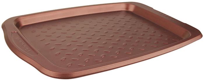 Противень Rondell Kortado, с антипригарным покрытием, 44 х 30,4 смAN80-187Противень Rondell Kortado прямоугольной формы изготовлен извысококачественнойуглеродистой стали с антипригарным покрытием Xynflon. Изделие имеетрифленую поверхность дна для лучшего пропекания и легкого извлечениявыпечки.Внешний размер: 44 x 30,4 см. Внутренний размер: 35,5 x 26 см. Подходит для использования в посудомоечных машинах.