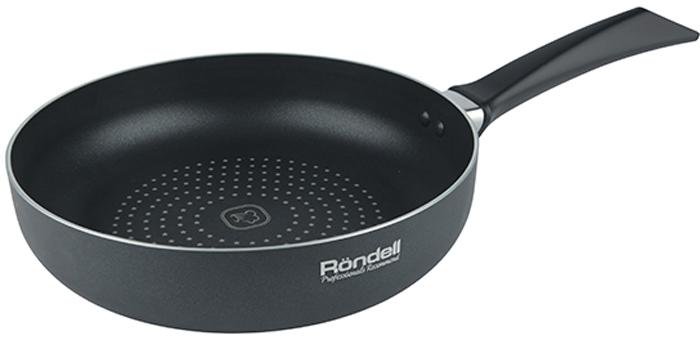 Сковорода Rondell Arabesco, с антипригарным покрытием. Диаметр 20 смRDA-779Сковорода с принтом RONDELL 20 см Arabesco, материал: штампованный алюминий