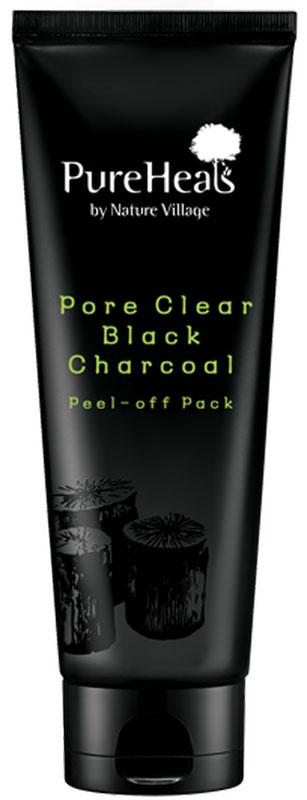 Pureheal'S Pore Clear Black Charcoal Peel Off Pack Черная пленочная маска с древесным углем, 100 мл
