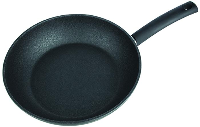 Сковорода глубокая RONDELL Mustang, материал: утолщенный кованый алюминий, 28х7,0см