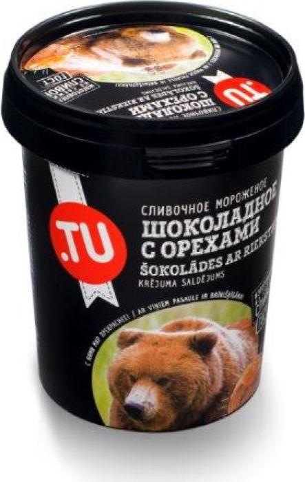 TuFood Мороженое Шоколадное с карамелью, орехами и ореховым крокантом, 300 г4751026830275Шоколадное мороженое с нежным ореховым вкусом, с тонами горячего жженого сахара и ореховым крокантом.