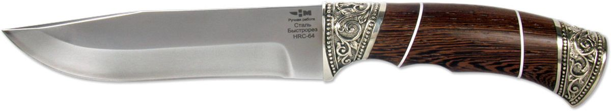 Нож охотничий Ножемир Таежник, цвет: темно-коричневый, длина клинка 14,9 см нож охотничий ножемир длина клинка 16 5 см