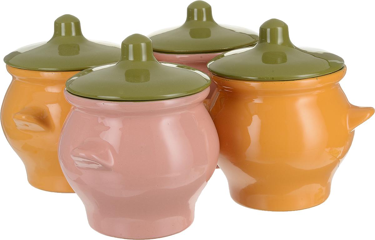 Набор столовой посуды Борисовская керамика Престиж, 4 предметаРАД14457Набор посуды Престиж №1 РАД14457. Материал: Керамика. Объем: 2,7
