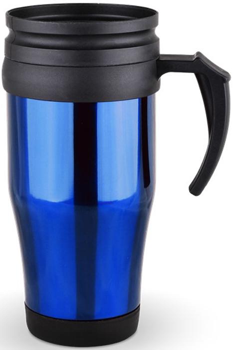 Термокружка Diolex, цвет: синий, 450 млFJ1000MLТермокружка Diolex выполнена из высококачественной нержавеюшей стали и термостойкогопластика с двойными стенками, которые защищают руки от высоких температур и позволяютдольше сохранять тепло напитка. Изделие имеет защиту от проливаний и оснащено удобнойкрышкой с открывающимся клапаном. Такая термокружка порадует каждого, кто ее увидит, и великолепно украсит кухонный интерьер. Диаметр (по верхнему краю): 8 см.Высота кружки (без учета крышки): 17,5 см.