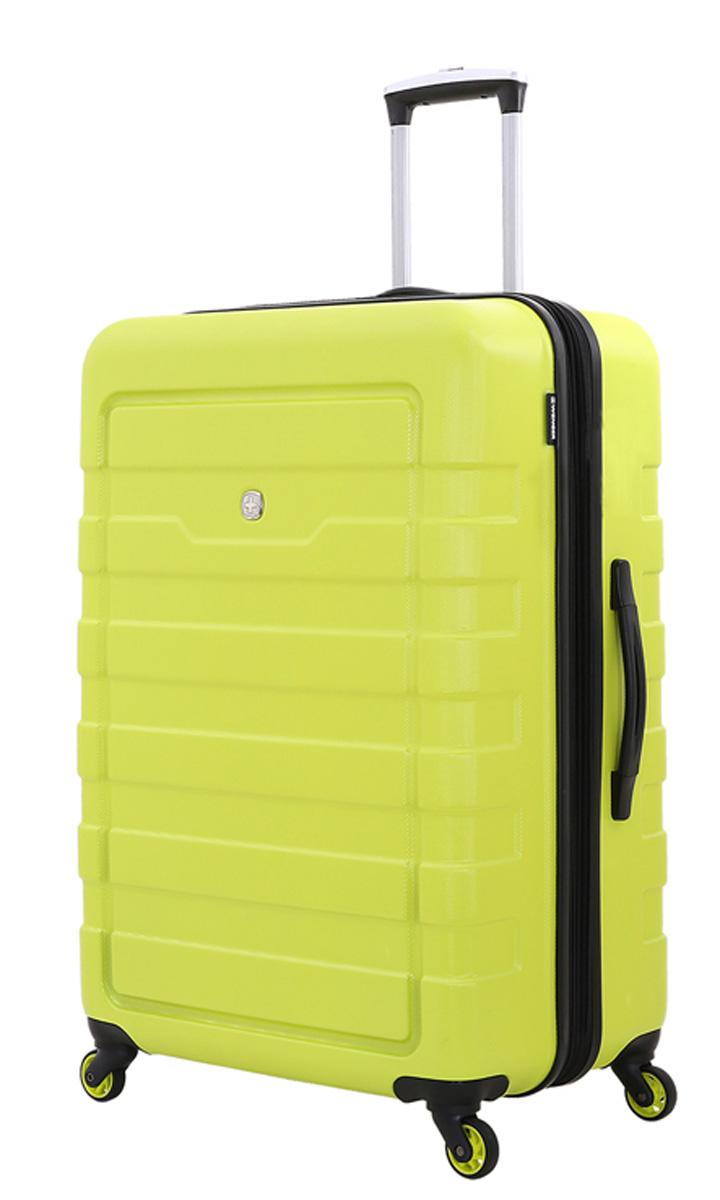 Чемодан Wenger Tresa, на колесах, цвет: салатовый, 100 л чемодан samsonite чемодан 55 см lite biz