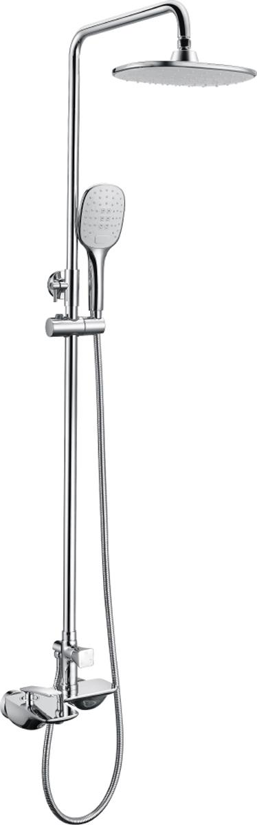 Смеситель Lemark Bellario LM6862C, для ванны и душаLM6862CBELLARIO LM6862C.Смеситель для ванны и душа с регулируемой высотой штанги, монолитным изливом и верхней душевой лейкой «Тропический дождь».Комплектация:• аэратор• керамический картридж 35 мм• трехпозиционный картриджный переключатель• верхняя поворотная душевая лейка «Тропический дождь» 240x190 мм• 3-функциональная лейка• регулируемое по высоте крепление для лейки• душевой шланг 1,5 м• металлическая рукояткаСмесители LEMARK рассчитаны на 30 лет комфортной эксплуатации.В них соединены современные технологии производства и продуманный конструктив. Установлены комплектующие от известных мировых производителей, являющихся лидерами в своих сегментах:• немецкие аэраторы Neoperl – устройства, регулирующие расход воды;• керамические картриджи и кран-буксы испанской фирмы Sedal.Вся продукция LEMARK устанавливается не только в частном секторе, но и с успехом эксплуатируется в офисах Hewlett-Packard, Walt Disney Studios Sony Pictures Releasing, Mail.ru Group, а также в новом терминале аэропорта «Толмачево» в Новосибирске.Сегодня на смесители LEMARK установлен беспрецедентный 10-летний период бесплатного сервисного обслуживания. Данное условие действует, даже если монтаж изделий производится покупателями cамостоятельно.Сервисная сеть насчитывает 90 гарантийных мастерских по России и странам СНГ.