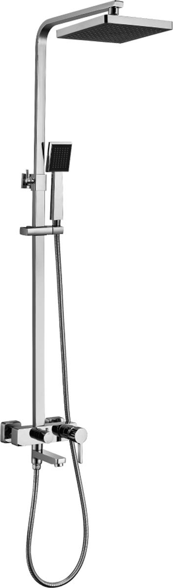 TROPIC LM7004C.Смеситель для ванны и душа с регулируемой высотой штанги, поворотным изливом и верхней душевой лейкой «Тропический дождь».Комплектация:• аэратор• керамический картридж 35 мм• переключатель верхний, ручной душ с керамическими пластинами• встроенный в излив переключатель с керамическими пластинами• верхняя поворотная душевая лейка «Тропический дождь» 230x230 мм• 1-функциональная лейка• регулируемое по высоте крепление для лейки• душевой шланг 1,5 м (стальной, оплетка с двойным загибом)• металлическая рукояткаСмесители LEMARK рассчитаны на 30 лет комфортной эксплуатации.В них соединены современные технологии производства и продуманный конструктив. Установлены комплектующие от известных мировых производителей, являющихся лидерами в своих сегментах:• немецкие аэраторы Neoperl – устройства, регулирующие расход воды;• керамические картриджи и кран-буксы испанской фирмы Sedal.Вся продукция LEMARK устанавливается не только в частном секторе, но и с успехом эксплуатируется в офисах Hewlett-Packard, Walt Disney Studios Sony Pictures Releasing, Mail.ru Group, а также в новом терминале аэропорта «Толмачево» в Новосибирске.Сегодня на смесители LEMARK установлен беспрецедентный 10-летний период бесплатного сервисного обслуживания. Данное условие действует, даже если монтаж изделий производится покупателями cамостоятельно.Сервисная сеть насчитывает 90 гарантийных мастерских по России и странам СНГ.