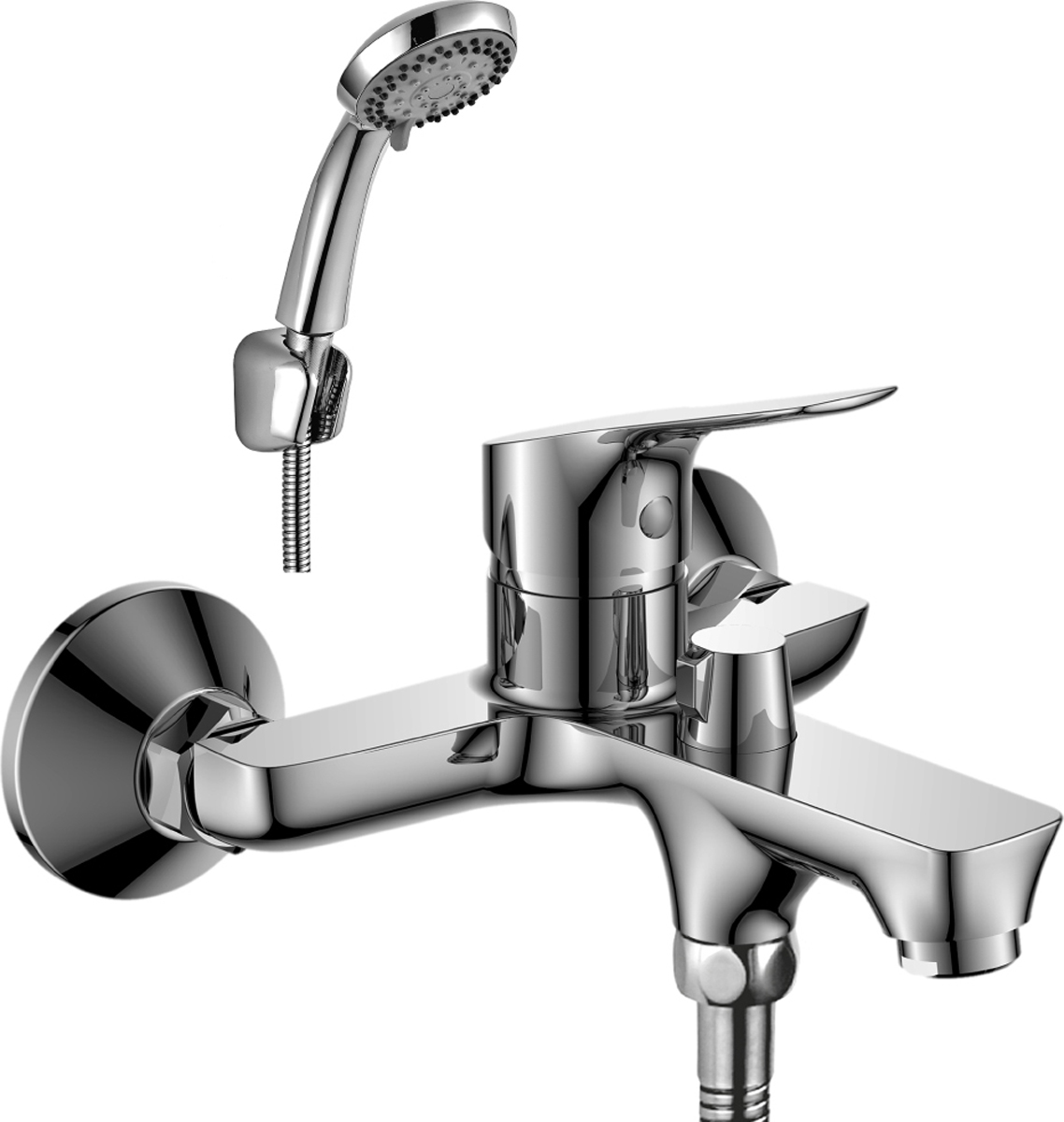 Смеситель Rossinka, для ванны. RS29-31RS29-31Смеситель для ванны с монолитным изливом Rossinka изготовлен высококачественного металла. Комплектация:Пластиковый аэратор с функцией легкой очистки; Керамический картридж 35 мм; Переключатель с керамическими пластинами; Аксессуары: (шланг 1,5 м, настенное крепление, 5-функциональная лейка с функцией легкой очистки); Присоединительная группа (эксцентрики с отражателями) для вертикального крепления; Металлическая рукоятка. Смесители Rossinka были разработаны российским институтом НИИ Сантехники, что позволило произвести продукт, максимально подходящий под условия эксплуатации в нашей стране (жесткая вода, частые перепады температуры и напора воды).НИИ Сантехники рекомендует установку смесителей Rossinka в жилых помещениях, в детских, лечебно-профилактических, дошкольных и школьных учреждениях.Наличие международного сертификата ISO 9001 гарантирует стабильность качества выпускаемой продукции.Сервисная сеть насчитывает 90 гарантийных мастерских по России и странам СНГ. Плановый срок службы смесителей 30 лет.Гарантия на корпус смесителя при условии использования в бытовых условиях 7 лет.
