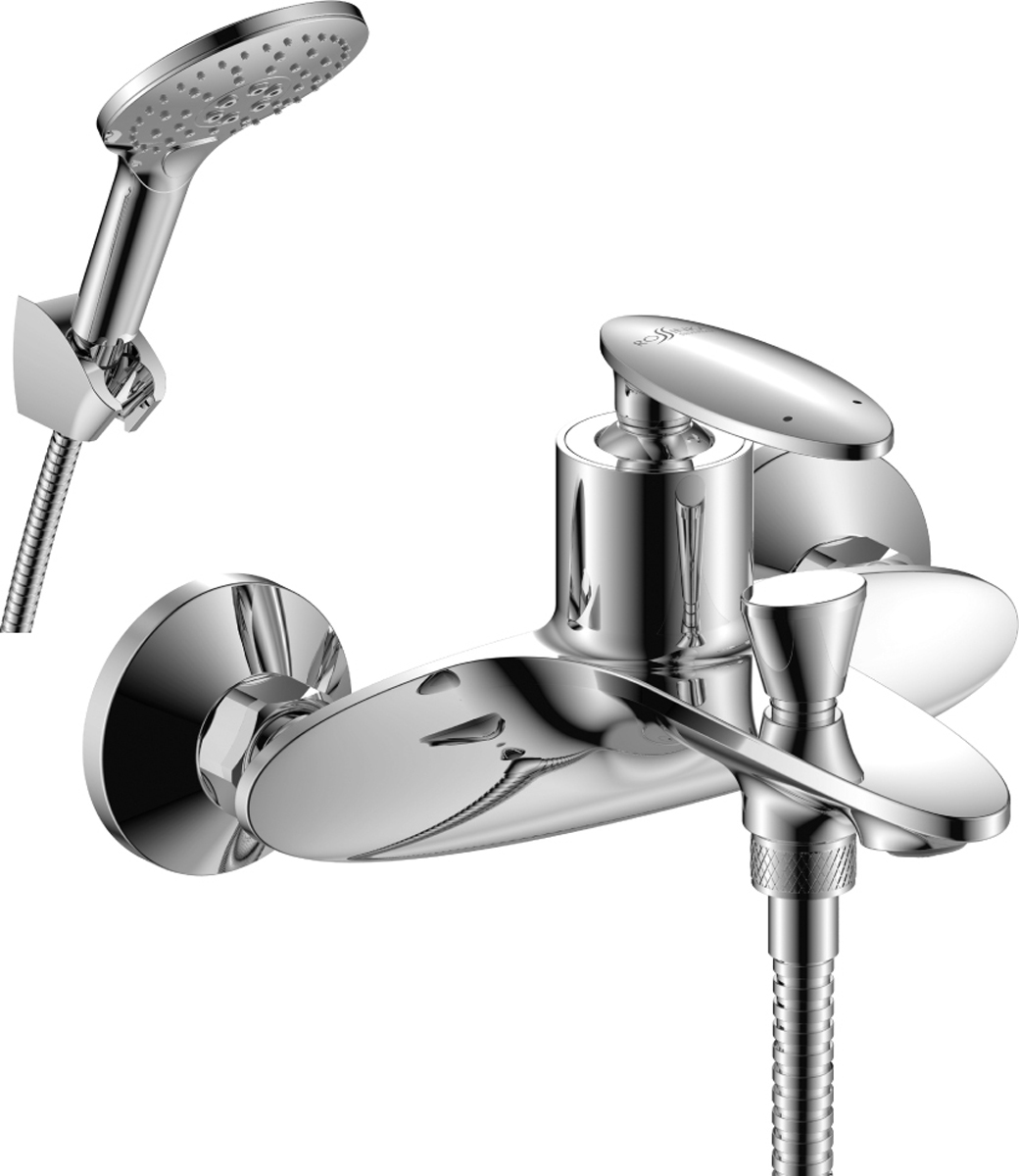 Смеситель Rossinka RS30-31, для ванныRS30-31RS30-31. Смеситель для ванны с монолитным изливом.Комплектация:• пластиковый аэратор с функцией легкой очистки• керамический картридж 35 мм• кнопочный переключатель• аксессуары в комплекте (шланг 1,5 м, 3-функциональная лейка с функцией легкой очистки, 3-х позиционный держатель для лейки)• присоединительная группа (эксцентрики с отражателями) для вертикального крепления• металлическая рукояткаСмесители Rossinka были разработаны российским институтом «НИИ Сантехники», что позволило произвести продукт, максимально подходящий под условия эксплуатации в нашей стране (жесткая вода, частые перепады температуры и напора воды).«НИИ Сантехники» рекомендует установку смесителей Rossinka в жилых помещениях, в детских, лечебно-профилактических, дошкольных и школьных учреждениях.Наличие международного сертификата ISO 9001 гарантирует стабильность качества выпускаемой продукции.Сервисная сеть насчитывает 90 гарантийных мастерских по России и странам СНГ.Плановый срок службы смесителей 30 лет.Гарантия на смесители 7 лет.