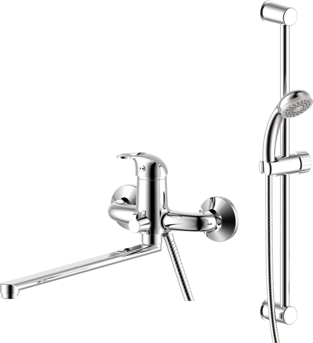 Смеситель Rossinka, 2 в 1. SET35-82SET35-82SET35-82. Набор для ванной комнаты «2 в 1».Смеситель для умывальника монолитный:• пластиковый аэратор с функцией легкой очистки• керамический картридж 35 мм• гибкая подводка 30 см – 2 шт.• присоединительная группа для горизонтального крепления• металлическая рукояткаДушевой гарнитур:• душевая стойка• аксессуары в комплекте (шланг 1,5 м, настенное крепление, 1-функциональная лейка с функцией легкой очистки)• присоединительная группа для настенного крепленияСмесители Rossinka были разработаны российским институтом «НИИ Сантехники», что позволило произвести продукт, максимально подходящий под условия эксплуатации в нашей стране (жесткая вода, частые перепады температуры и напора воды).«НИИ Сантехники» рекомендует установку смесителей Rossinka в жилых помещениях, в детских, лечебно-профилактических, дошкольных и школьных учреждениях.Наличие международного сертификата ISO 9001 гарантирует стабильность качества выпускаемой продукции.Сервисная сеть насчитывает 90 гарантийных мастерских по России и странам СНГ.Плановый срок службы смесителей 30 лет.Гарантия на смесители 7 лет.