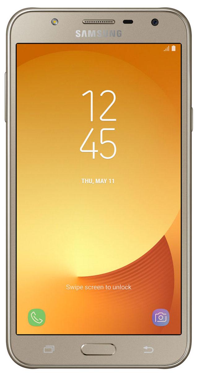 Samsung Galaxy J7 Neo, GoldSAM-SM-J701FZDDSERДизайн, притягивающий взгляды. Обновленная модель Samsung Galaxy J7 Neo помещена в стильный монолитный корпус с декоративным оформлением кнопки Домой, объектива камеры и микрофона. Результат - по-настоящему уникальный дизайн, запоминающийся с первого взгляда.Сделайте мир красочнее. 5,5-дюймовый дисплей sAMOLED смартфона Samsung Galaxy J7 Neo обеспечивает прекрасное разрешение и превосходную контрастность картинки, создавая эффект присутствия при просмотре. Ваши фотографии, видео и музыка заслуживают воспроизведения в самом высоком качестве.Samsung Galaxy J7 Neo оснащен улучшенным процессором с тактовой частотой 1,6 ГГц и оперативной памятью объемом 2 ГБ, что обеспечивает стабильную работу устройства. Благодаря аккумуляторной батарее на 3000 мАч и энергосберегающему режиму вы сможете пользоваться смартфоном дольше, не прерываясь на подзарядку.Фронтальная камера 5 Мпикс и усовершенствованная задняя камера 13 Мпикс с апертурой f/1,9 и вспышкой гарантируют высокое качество съемки даже в условиях слабого освещения. Остановить мгновение - это просто. Камера Samsung Galaxy J7 Neo удобна в использовании, с ней вам будет легко запечатлеть мгновения своей жизни. Благодаря простому и удобному интерфейсу вы сможете менять режим съемки одним движением.Samsung Secure Folder - мощное решение по защите данных, позволяющее создавать частное полностью зашифрованное пространство с дополнительным уровнем защиты для скрытого хранения личных данных (фотографий, документов, голосовых записей), доступ к которым будете иметь только вы.Комплексное управление избранным контентом. Облако Samsung Cloud позволяет создавать резервные копии, синхронизировать, восстанавливать и обновлять данные на смартфоне Galaxy, чтобы открывать вам доступ к нужным данным в любое время, в любом месте.Настройте общение в чатах. Samsung Galaxy J7 Neo позволяет установить в одном мессенджере два аккаунта для разных целей. Пользователи могут установить в мессенджере второй