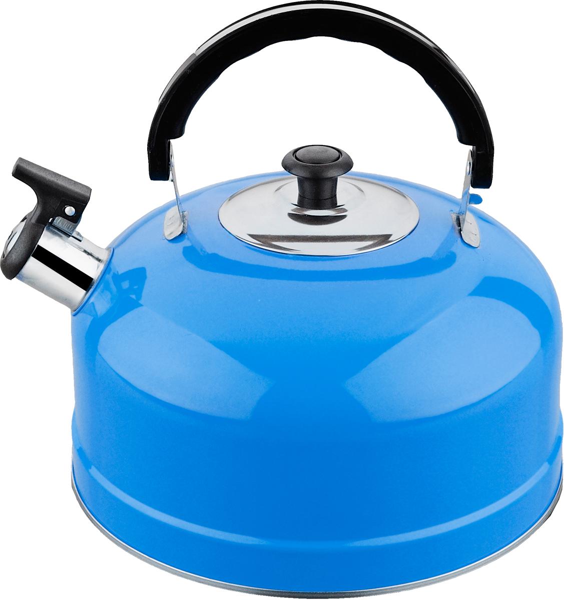 Чайник Irit, со свистком, цвет: голубой, 2,5 лIRH-418 голубойЧайник Irit изготовлен из высококачественной нержавеющей стали, имеет однослойное дно. Нержавеющая сталь обладает высокой устойчивостью к коррозии, не вступает в реакцию с холодными и горячими продуктами и полностью сохраняет их вкусовые качества.Чайник оснащен удобной подвижнойручкой из термостойкого пластика, которая не нагревается. Носик чайника имеет откидной свисток, звуковой сигнал которого подскажет, когда закипит вода.