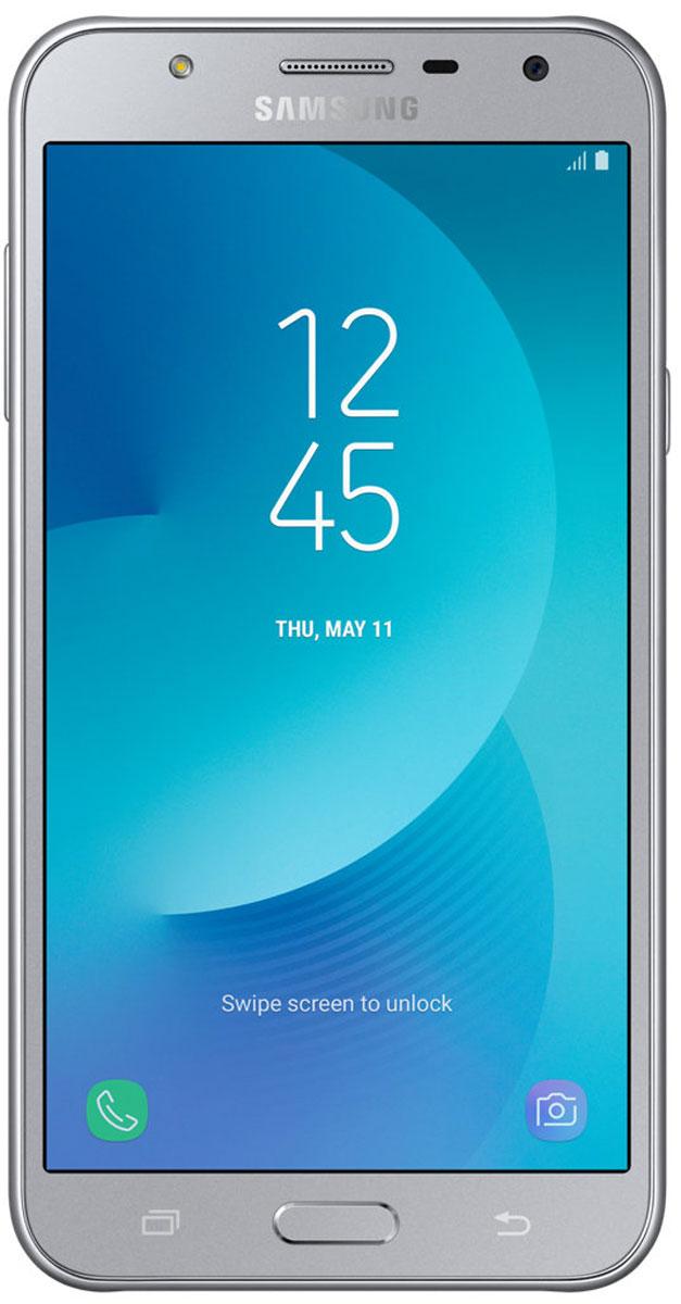 Samsung Galaxy J7 Neo, SilverSM-J701FZSDSERДизайн, притягивающий взгляды. Обновленная модель Samsung Galaxy J7 Neo помещена в стильный монолитный корпус с декоративным оформлением кнопки Домой, объектива камеры и микрофона. Результат - по-настоящему уникальный дизайн, запоминающийся с первого взгляда.Сделайте мир красочнее. 5,5-дюймовый дисплей sAMOLED смартфона Samsung Galaxy J7 Neo обеспечивает прекрасное разрешение и превосходную контрастность картинки, создавая эффект присутствия при просмотре. Ваши фотографии, видео и музыка заслуживают воспроизведения в самом высоком качестве.Samsung Galaxy J7 Neo оснащен улучшенным процессором с тактовой частотой 1,6 ГГц и оперативной памятью объемом 2 ГБ, что обеспечивает стабильную работу устройства. Благодаря аккумуляторной батарее на 3000 мАч и энергосберегающему режиму вы сможете пользоваться смартфоном дольше, не прерываясь на подзарядку.Фронтальная камера 5 Мпикс и усовершенствованная задняя камера 13 Мпикс с апертурой f/1,9 и вспышкой гарантируют высокое качество съемки даже в условиях слабого освещения. Остановить мгновение - это просто. Камера Samsung Galaxy J7 Neo удобна в использовании, с ней вам будет легко запечатлеть мгновения своей жизни. Благодаря простому и удобному интерфейсу вы сможете менять режим съемки одним движением.Samsung Secure Folder - мощное решение по защите данных, позволяющее создавать частное полностью зашифрованное пространство с дополнительным уровнем защиты для скрытого хранения личных данных (фотографий, документов, голосовых записей), доступ к которым будете иметь только вы.Комплексное управление избранным контентом. Облако Samsung Cloud позволяет создавать резервные копии, синхронизировать, восстанавливать и обновлять данные на смартфоне Galaxy, чтобы открывать вам доступ к нужным данным в любое время, в любом месте.Настройте общение в чатах. Samsung Galaxy J7 Neo позволяет установить в одном мессенджере два аккаунта для разных целей. Пользователи могут установить в мессенджере второй а