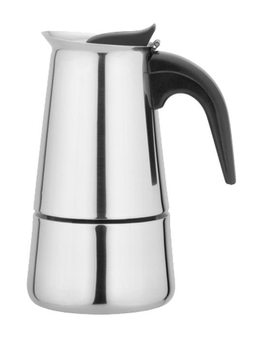 Кофеварка Irit, гейзерная, цвет: серебристый, 300 мл