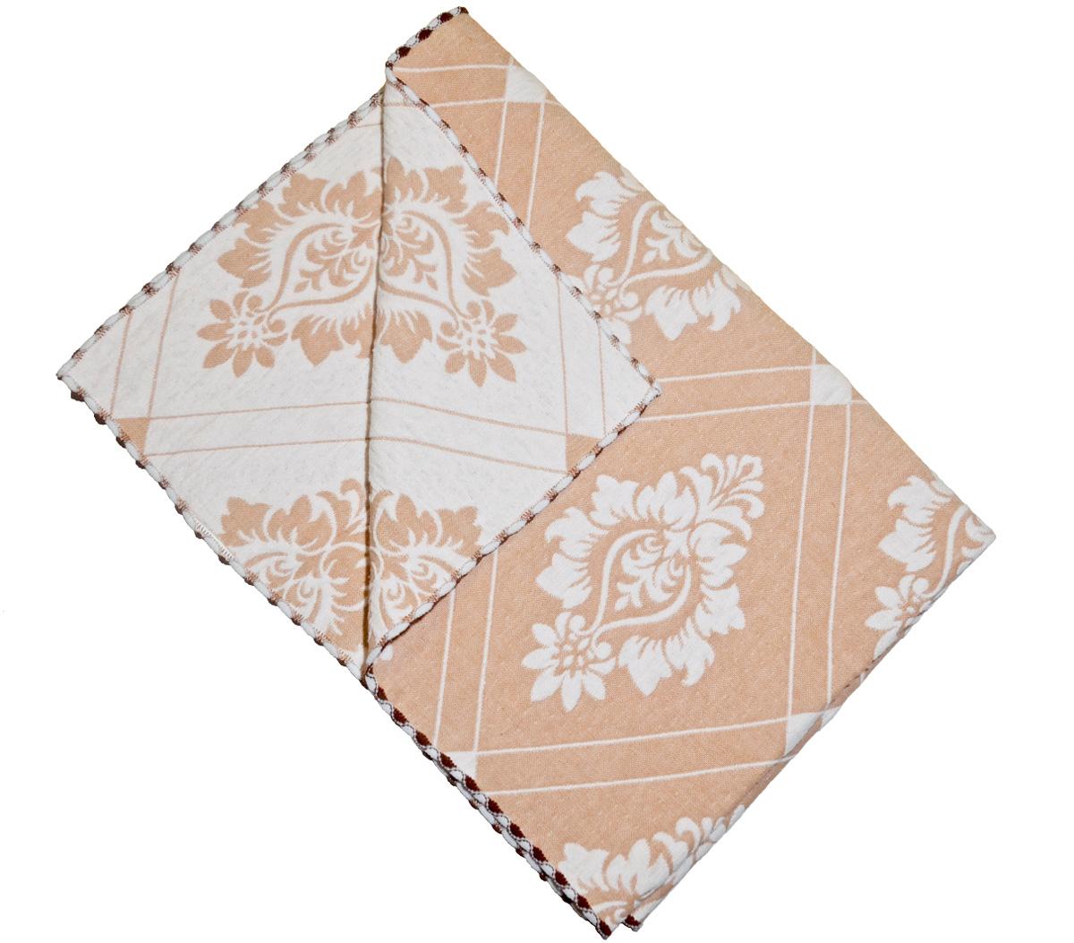Набор кухонных полотенец Kamalak Tekstil Дамаск, цвет: бежевый, 2 штКНП-004кНевероятно красивые тканые кухонные полотенца. Отлично впитывывают влагу, неприхотливы в стирке, не теряют своего внешнего вида. Они украсят вашу кухню и станут приятным подарком идля близких. Полотенца упакованы в стиьную коробочку.