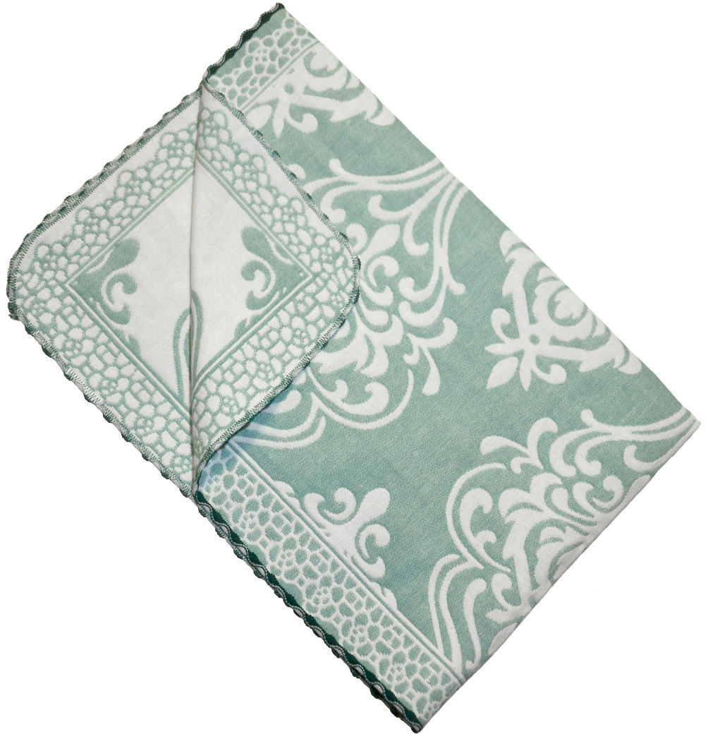 Набор кухонных полотенец Kamalak Tekstil Дамаск, цвет: зеленый, 2 штКНП-006кНевероятно красивые тканые кухонные полотенца. Отлично впитывывают влагу, неприхотливы в стирке, не теряют своего внешнего вида. Они украсят вашу кухню и станут приятным подарком идля близких. Полотенца упакованы в стиьную коробочку.