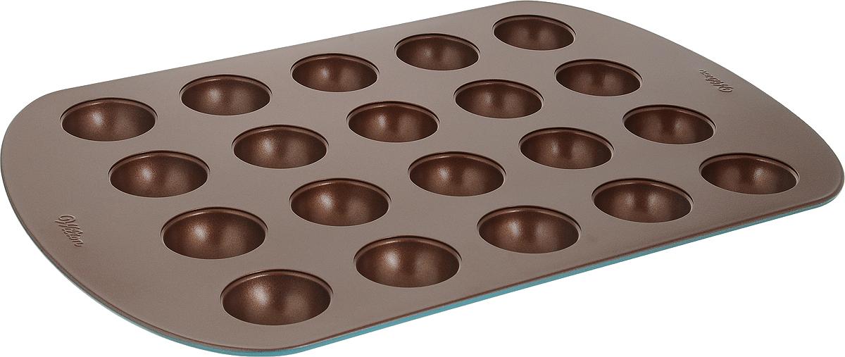 Форма для выпечки Wilton Шарики мини, 12 ячеекWLT-2105-7034Металлическая форма для выпечки Шарики мини, 12 ячеек