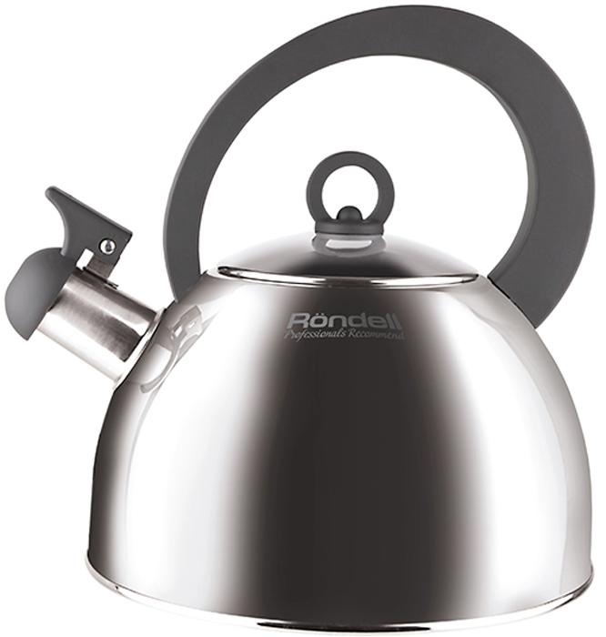 Чайник Rondell Strike Grey, 2 лRDS-922Чайник RONDELL Strike Grey, 2,0 л, материал: высококачественная нержавеющая сталь