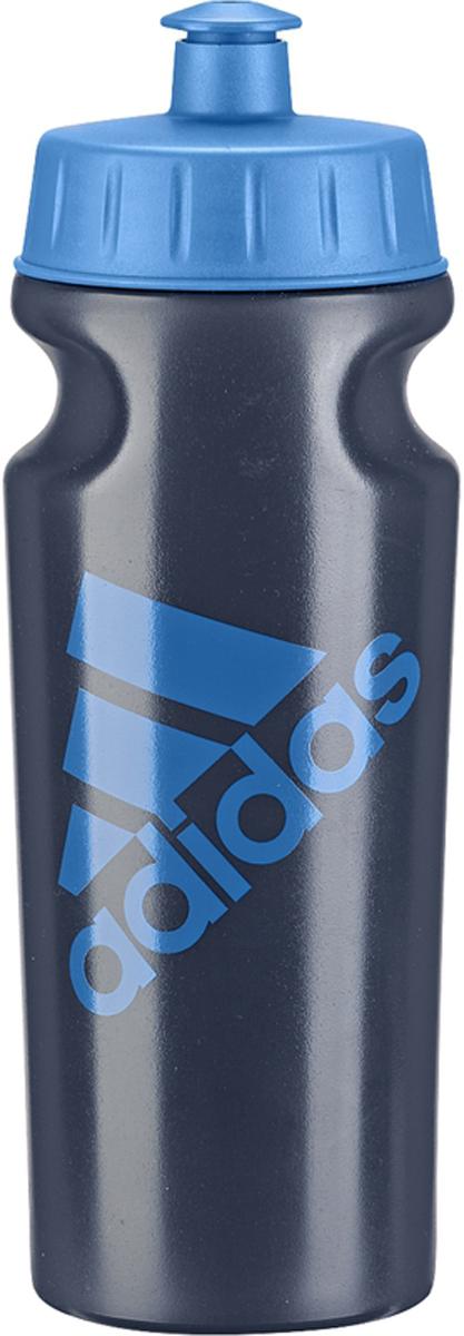 Бутылка спортивная Adidas, цвет: синий, 500 мл. AJ94614059103033Стильная эргономичная бутылка для хранения воды;Подходит к большинству велосипедных холдеров;НЕ содержит вредный бисфенол;Логотип Adidas в знак приверженности к бренду;Состав: литой полиэтилен.