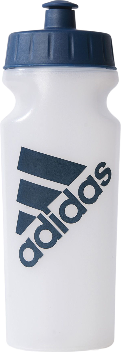 Бутылка спортивная Adidas, цвет: белый, 500 мл бутылка спортивная salomon soft flask 500 мл
