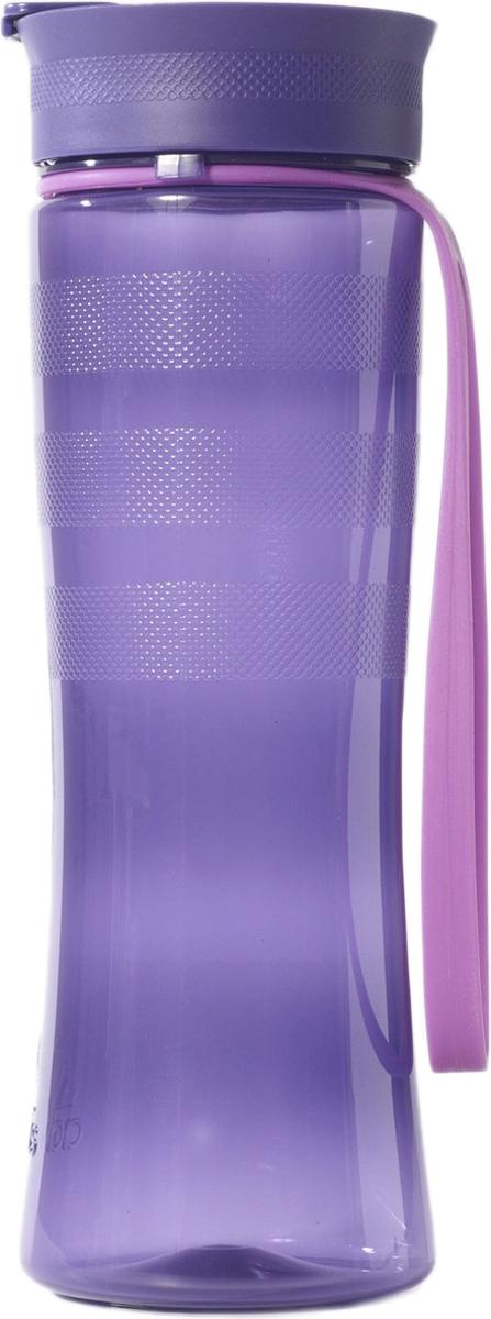 Бутылка спортивная Adidas, цвет: фиолетовый, 700 мл4057282417336Бутылка Adidas PP BOTTLE 0,7LT - незаменимая вещь во время тренировок. Удобная силиконовая ручка.Есть 3 рефленные полосы для комфортного захвата. Герметичная крышка. Adidas логотип с тиснением. Емкость: 0,7 л