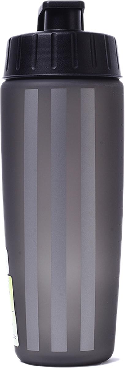 Бутылка спортивная Adidas, цвет: черный, 750 мл4057282422187Употребление достаточного количества жидкости — залог эффективной тренировки. Спортивная бутылка для воды объемом 750 мл поможет следовать этому правилу. Модель из прочного металла дополнена герметичной крышкой и украшена вертикальными тремя полосками. Устойчивое к повреждениям внешнее покрытие.