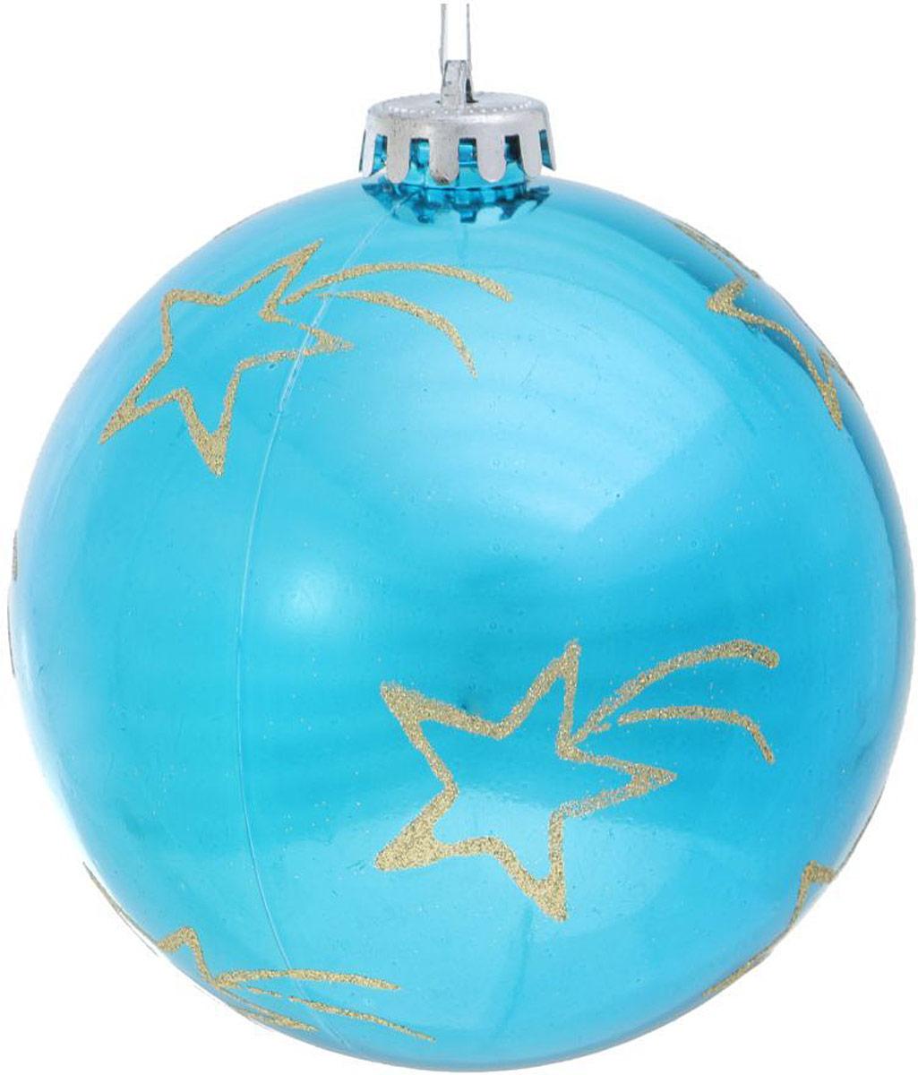 Украшение новогоднее подвесное Sima-land Комета, диаметр 12 см свеча ароматизированная sima land лимон на подставке высота 6 см