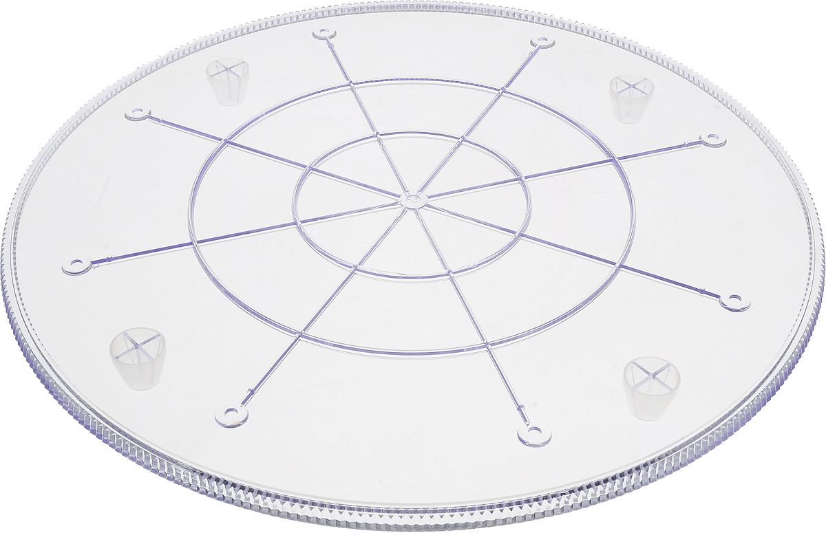 Тарелка под торт Wilton Прозрачная, круглая, диаметр 43 смWLT-302-1810Элегантные прозрачные тарелки используются отдельно или для сборки многоуровневого торта. Надежная поддержка, гарантированное качество, выглядит как настоящий хрусталь. Диаметр тарелки 43 см, использовать только с колоннами-трубочками. Размер: 35 см. Материал: пластик.