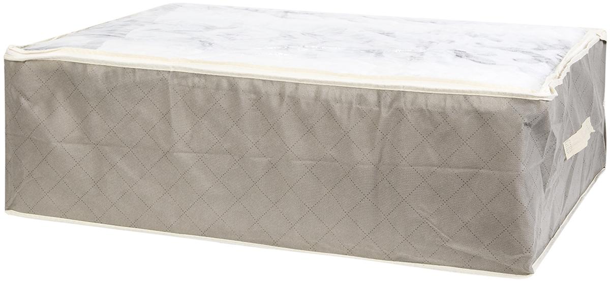 Кофр для хранения одеял и пледов El Casa Геометрия стиля, 80 х 60 х 25 см кофры el casa кофр складной для хранения геометрия стиля