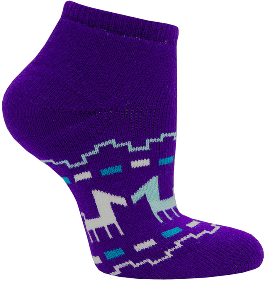 Носки женские Hosiery, цвет: фиолетовый. 1751. Размер 36/39 women ladies lace boat socks antiskid invisible liner no show peep low cut hosiery