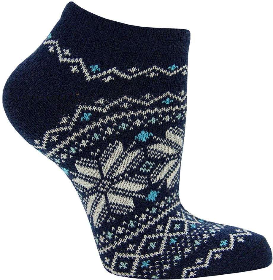 Носки женские Hosiery, цвет: темно-синий. 1716. Размер 23/25