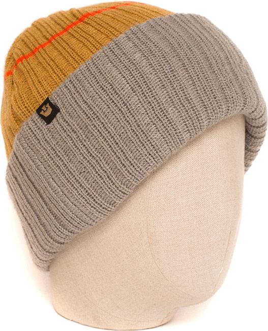 Шапка Goorin Brothers, цвет: коричневый. 107-0012. Размер универсальный107-0012Теплая и стильная шапка Goorin Brothers выполнена из акриловой пряжи. На ощупь она очень мягкая и приятная. Шапка дополнена отворотом, связанным широкой резинкой. На отвороте - текстильная нашивка с логотипом бренда. Такой стильный аксессуар подчеркнет вашу индивидуальность, а также станет отличным дополнением к гардеробу!