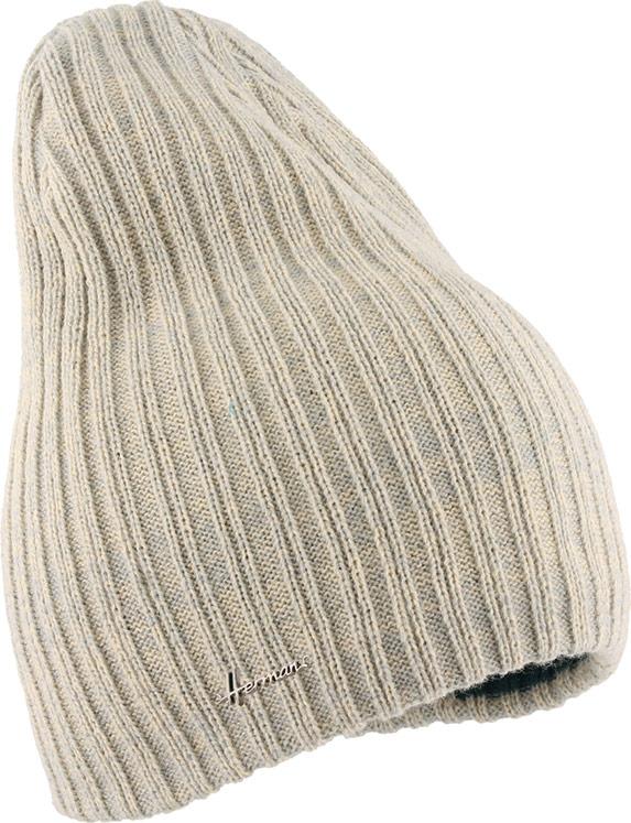 Шапка Herman, цвет: белый. JUSTIN 8541. Размер универсальныйJUSTIN 8541