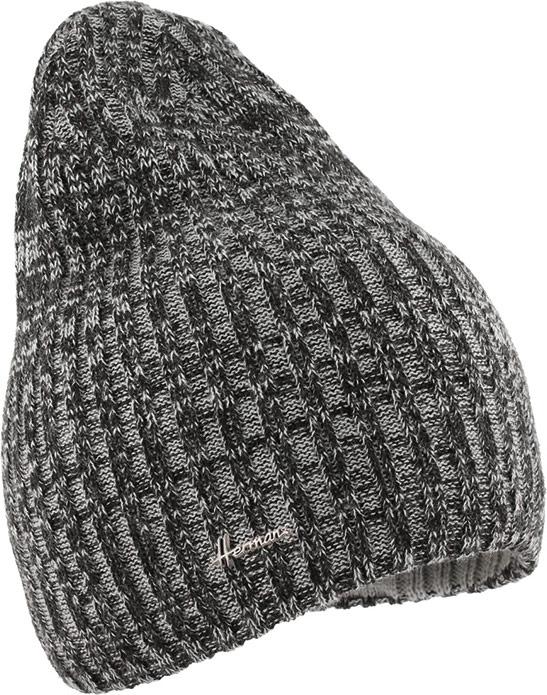 Шапка Herman, цвет: черный. JUSTIN 8541. Размер универсальныйJUSTIN 8541Теплая шапка Herman с подкладкой из качественного полиэстера, выполнена из акрила. Модель дополнена металлической нашивкой в виде логотипа бренда. Такая стильная и практичная шапка станет отличным аксессуаром и дополнит ваш образ.