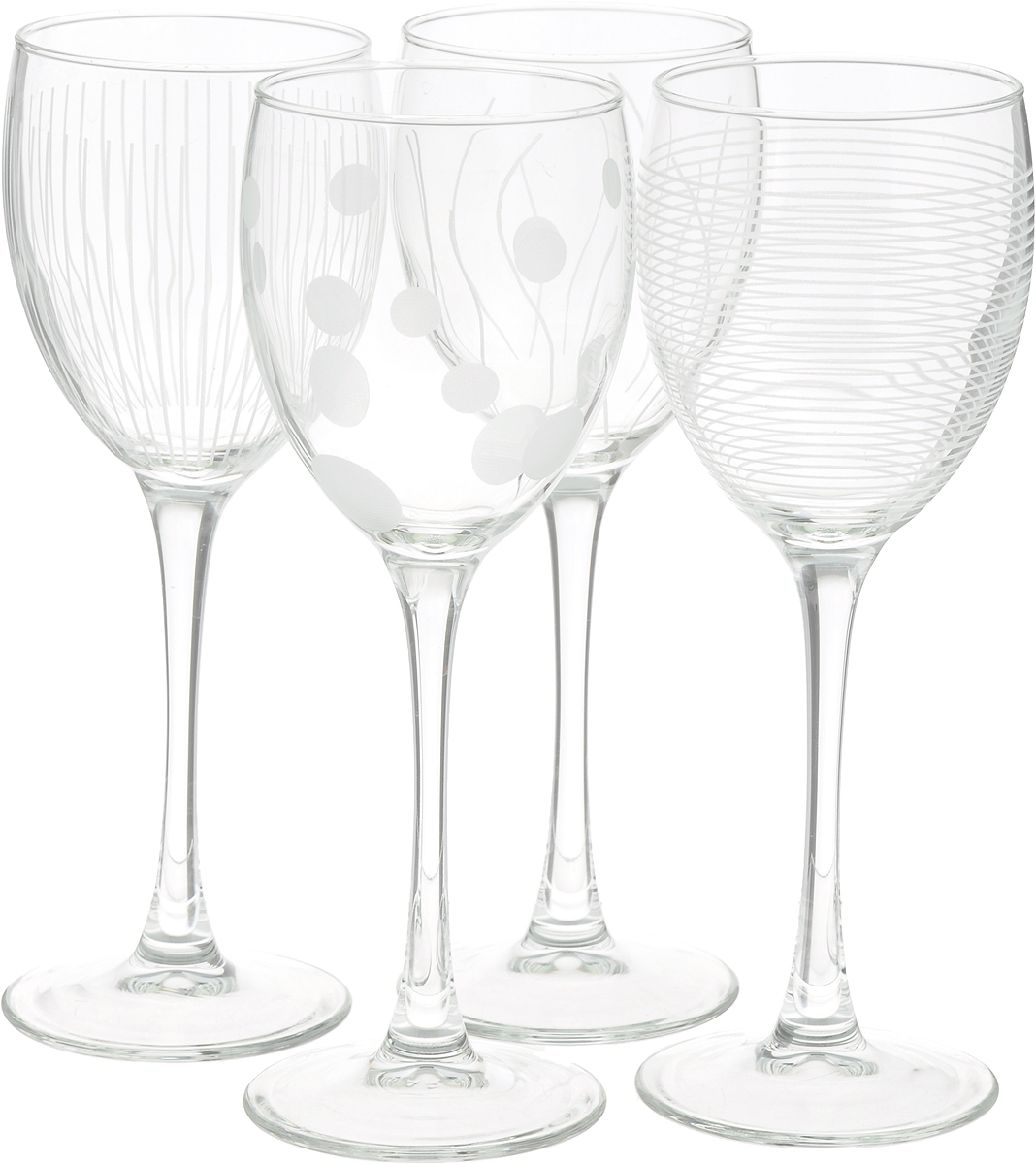 Набор фужеров для вина ОСЗ Лаунж Клаб, 250 мл, 4 шт 4sis лаунж зона лабро
