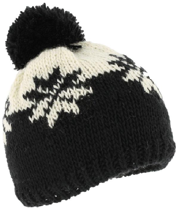 Шапка Ignite, цвет: черный. B-8105. Размер универсальныйB-8105Очень уютная шапка Ignite выполнена из акриловой пряжи, она невероятно мягкая и приятная на ощупь. Шапка оформлена помпоном.