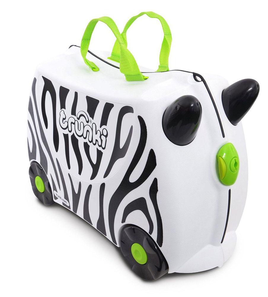 Trunki Чемодан детский Зебра Зимба детские чемоданы thorka детский чемодан детский на колесах лягушачий король