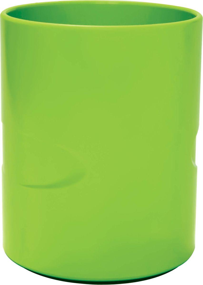 Index органайзер настольный Colourplay цвет салатовыйC23808_салатовыйИзготовлен из цветного пластика. Цвета в ассортименте (голубой, фиолетовый, зеленый). Специальная антискользящая накладка. Высота: 10,5 см. Диаметр: 8,5 см