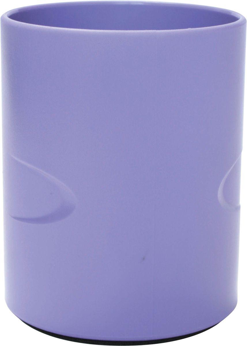 Index органайзер настольный Colourplay цвет сиреневыйC23808_сиреневыйИзготовлен из цветного пластика. Цвета в ассортименте (голубой, фиолетовый, зеленый). Специальная антискользящая накладка. Высота: 10,5 см. Диаметр: 8,5 см