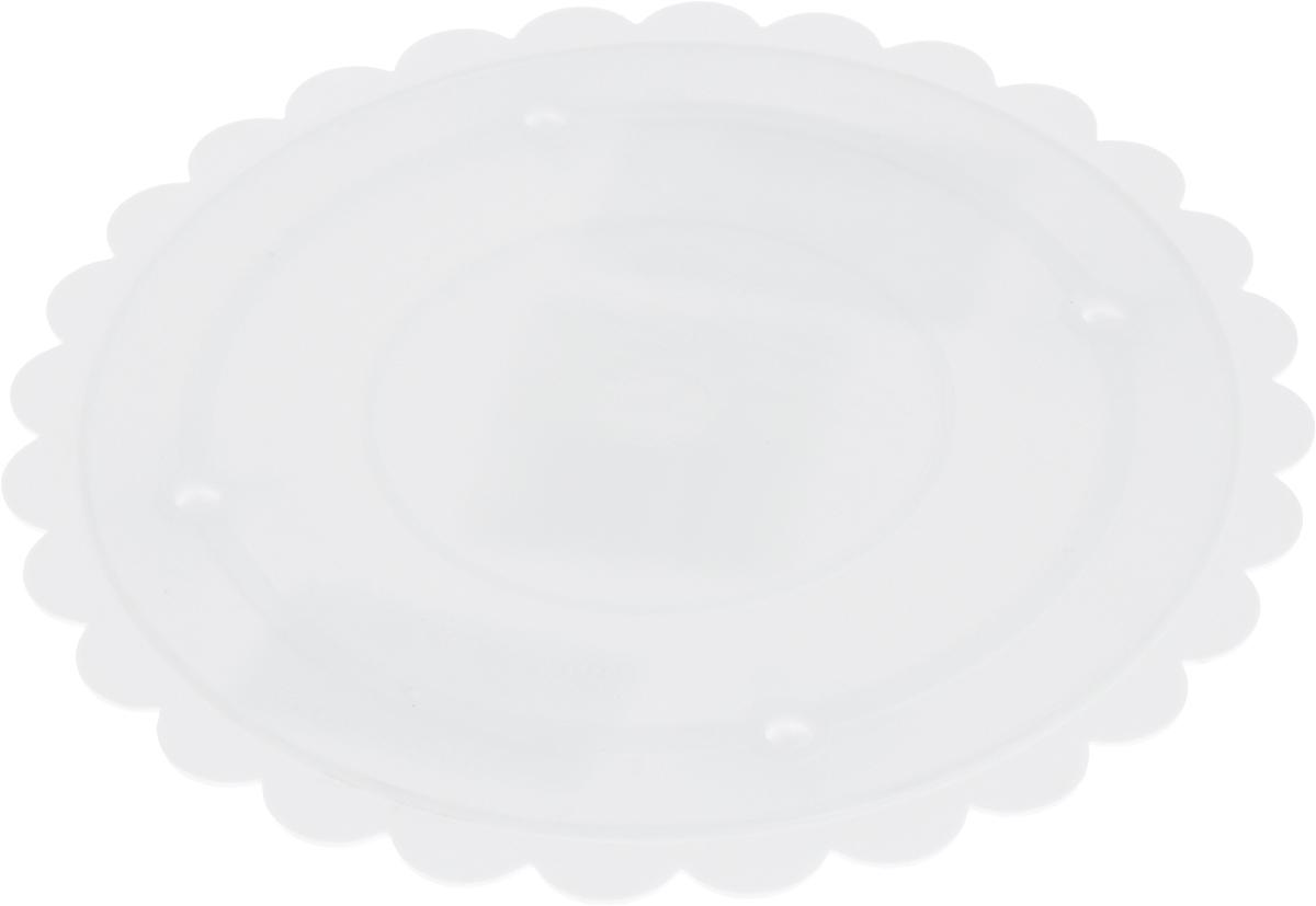 Тарелка для коржей Wilton, диаметр 18 смWLT-302-7Круглая тарелка Wilton выполненная из прочного пластика. Она может использоваться как отдельно, так и для сборки многоуровневого торта. Тарелка Wilton - надежная поддержка, гарантированное качество, красивые фестончатые края.