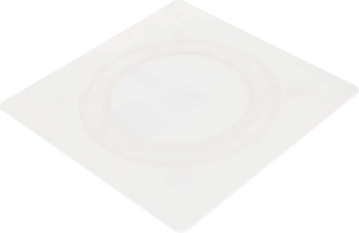Тарелка под торт Wilton Выбор кондитера, квадратная, 25 х 25 смWLT-302-1803Такие квадратные тарелки используются отдельно или для сборки многоуровневого торта. Надежная поддержка, гарантированное качество, гладкие края. Материал: пластик.