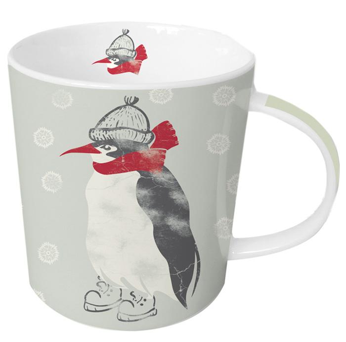 Кружка Paperproducts Design Winter Penguin, 350 мл602975Кружка с ярким изображением пингвина подходит для подачи чая, пунша, морса и других любимых напитков. Красивая посуда внесет разнообразие и сделает любой прием пищи еще приятнее. В сочетании с другими моделями можно подобрать комплект для всей семьи. Кружка выполнена из высококачественного фарфора, благодаря чему прекрасно подойдет для использования в микроволновой печи и посудомоечной машине. Объем: 350 мл.