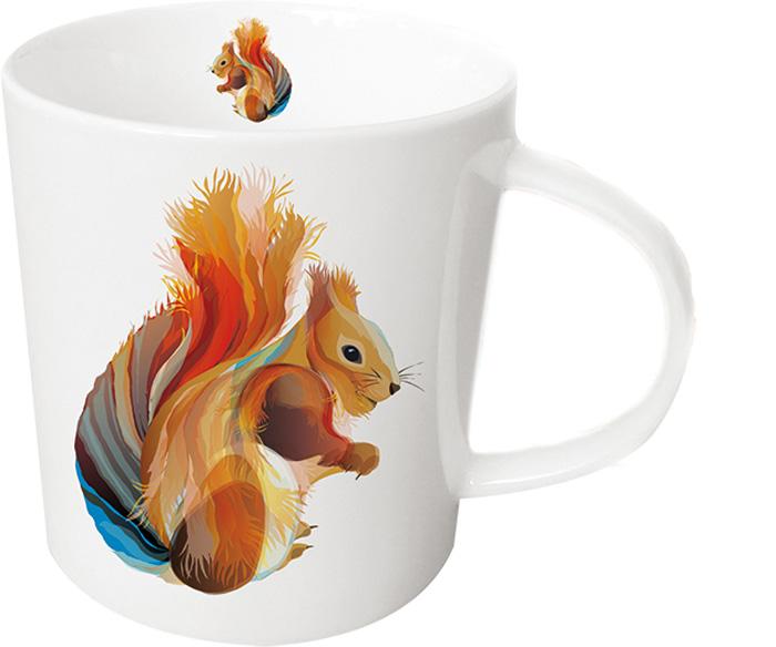 Кружка Paperproducts Design Leros Squirrel, 350 мл603187Кружка с ярким изображением белочки подходит для подачи чая, пунша, морса и других любимых напитков. Красивая посуда внесет разнообразие и сделает любой прием пищи еще приятнее. В сочетании с другими моделями можно подобрать комплект для всей семьи. Кружка выполнена из высококачественного фарфора, благодаря чему прекрасно подойдет для использования в микроволновой печи и посудомоечной машине. Объем: 350 мл.