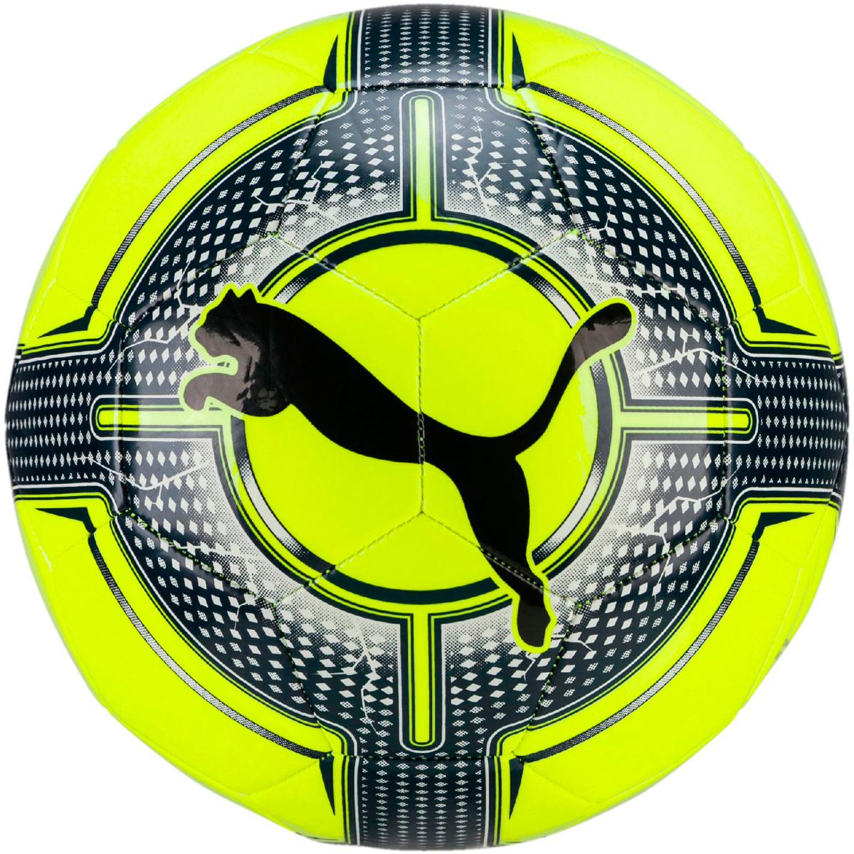 Мяч футбольный Puma Evopower 6.3 Trainer Ms, цвет: желтый. 08256344. Размер 508256344Мяч для тренировок предназначен для игр любителей всех уровней. Покрышка мяча выполнена из термополиуретана, камера из резины. Панели соединены между собой при помощи машинной сшивки. За счет всего этого футбольный мяч Puma evoPOWER 6.3 Trainer MS обладает хорошими характеристиками мяча, которые обеспечивают удобство приема, сохранение формы, предсказуемость отскока, отличные аэродинамические качества.