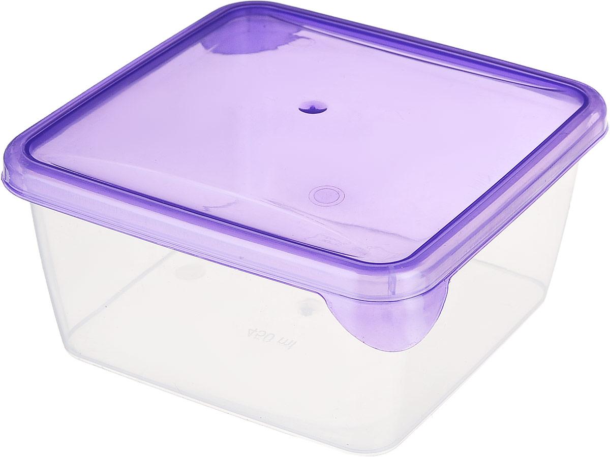 Контейнер P&C Браво, цвет: фиолетовый, прозрачный, 450 млGR1030_фиолетовый, прозрачныйКонтейнер P&C Браво выполнен из высококачественного пищевого прозрачного пластика и предназначен для хранения и транспортировки пищи.Крышка легко открывается и плотно закрывается с помощью легкого щелчка. Подходит для использования в микроволновой печи без крышки (до +70°С), для заморозки при минимальной температуре -30°С. Можно мыть в посудомоечной машине.