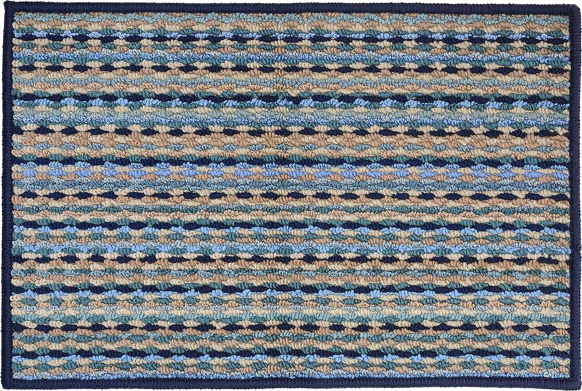Коврик придверный Vortex Spark, цвет: синий, 40 х 60 см. 2235322353_синийПридверный коврик Vortex Spark - это надежный коврик, который подойдет для использования как внутри помещения, так и снаружи. Коврик подойдет для использования и в летний период под палящим солнцем, и в зимние морозы. Плотный материал ПВХ задерживает грязь, после чего изделие легко стряхнуть или промыть под водой. Прорезиненная основа предотвращает скольжение по гладкой поверхности. Ворс: 100% полиэстер.Размеры: 40 х 60 см